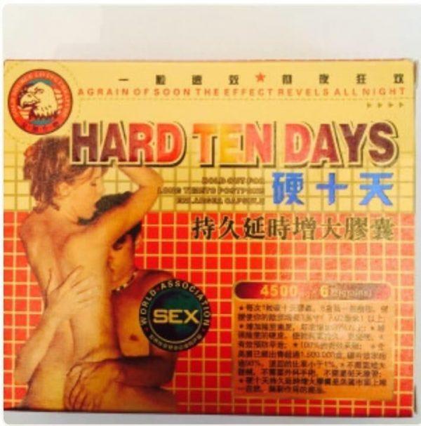 Hard Ten Days Sex Pills
