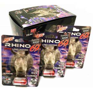 Rhino 69 Extreme 9000 Capsule